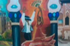 Mural - XXVIII CPSR - BAILAORES FLAMENCOS