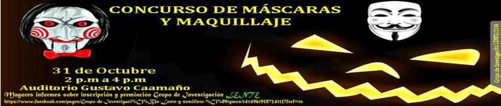 Concurso mascaras y maquillaje 2014