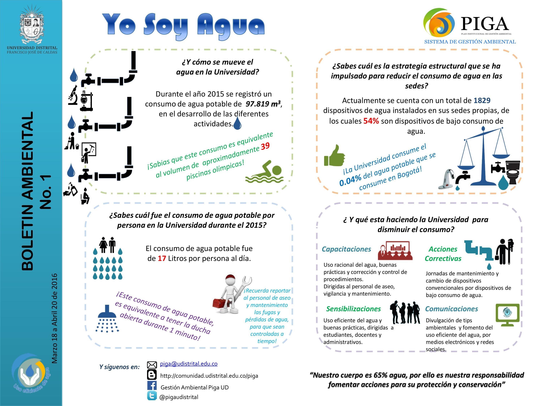 Boletín Ambiental Yo Soy Agua